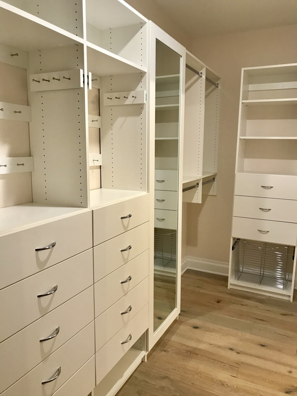 Walk-In Closet designs from Closets-N-More